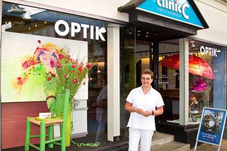 Merete Svan, indehaver af Clinic C - Kontaktlinser og briller i Slagelse
